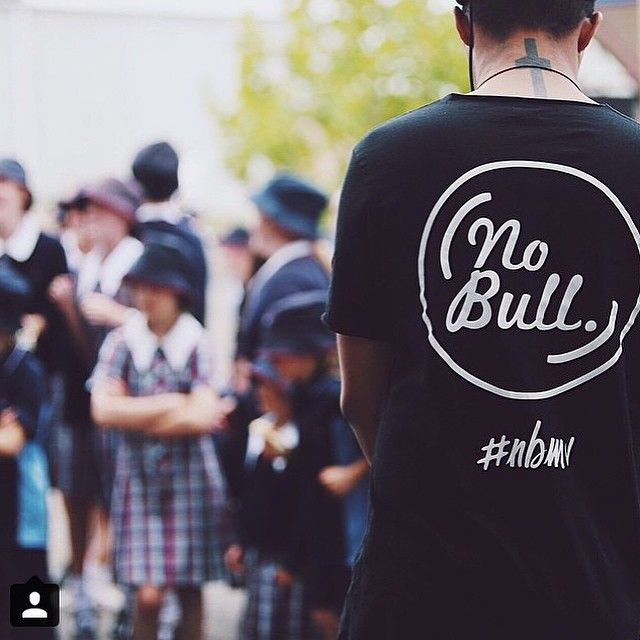 """No bull movement! Anti bullying program in highschools! @planetshakersstudentservices  #silkscreen #screenprint #tees #uniforms #streetwear #melbourne #Australia #fashion #nbmv"""