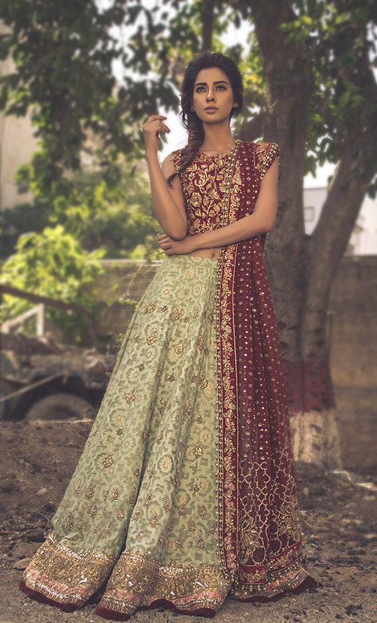 """Tena Durrani Mon Rêve Bridal Collection ""                                                                                                                                                                                 More"