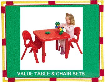 Daycare Furniture Direct Tables and Chairs for DayCare and Childcare classrooms.  sc 1 st  Pinterest : daycare tables and chair set - pezcame.com