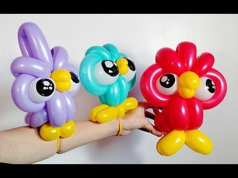 Кувшинка, Лотос из шаров / Water lily, lotus of balloons - YouTube