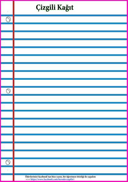 kalın çizgili kağıt, 4a çizgili kağıt, çizgili kağıt resimleri, çizgili kağıt örneği, kalın çizgili kağıt örneği