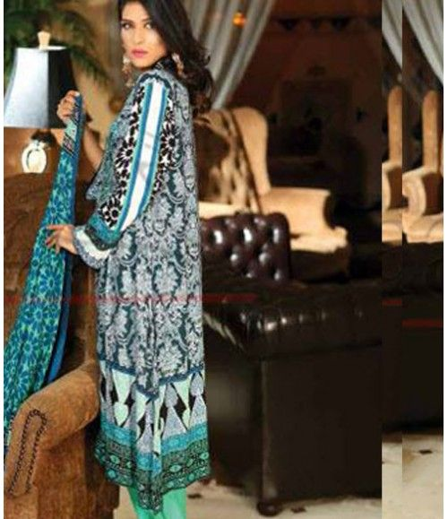Lala Classic Embroidered Linen Suits collection LLE_03B
