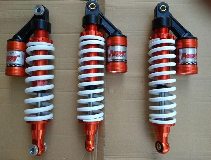 ATV VTT parts for ATVS 2pcs 305mm front Shocks buffer + 1pcs 305mm rear Shocks motorcycle moto 4X4 go kart karting quad BIKE