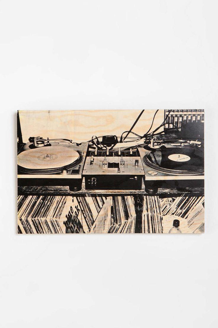 Jonene taddei turntable art print living room