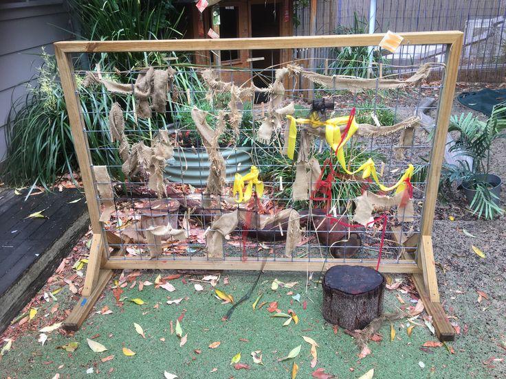 Toddler weaving board at Explore & Develop Narraweena