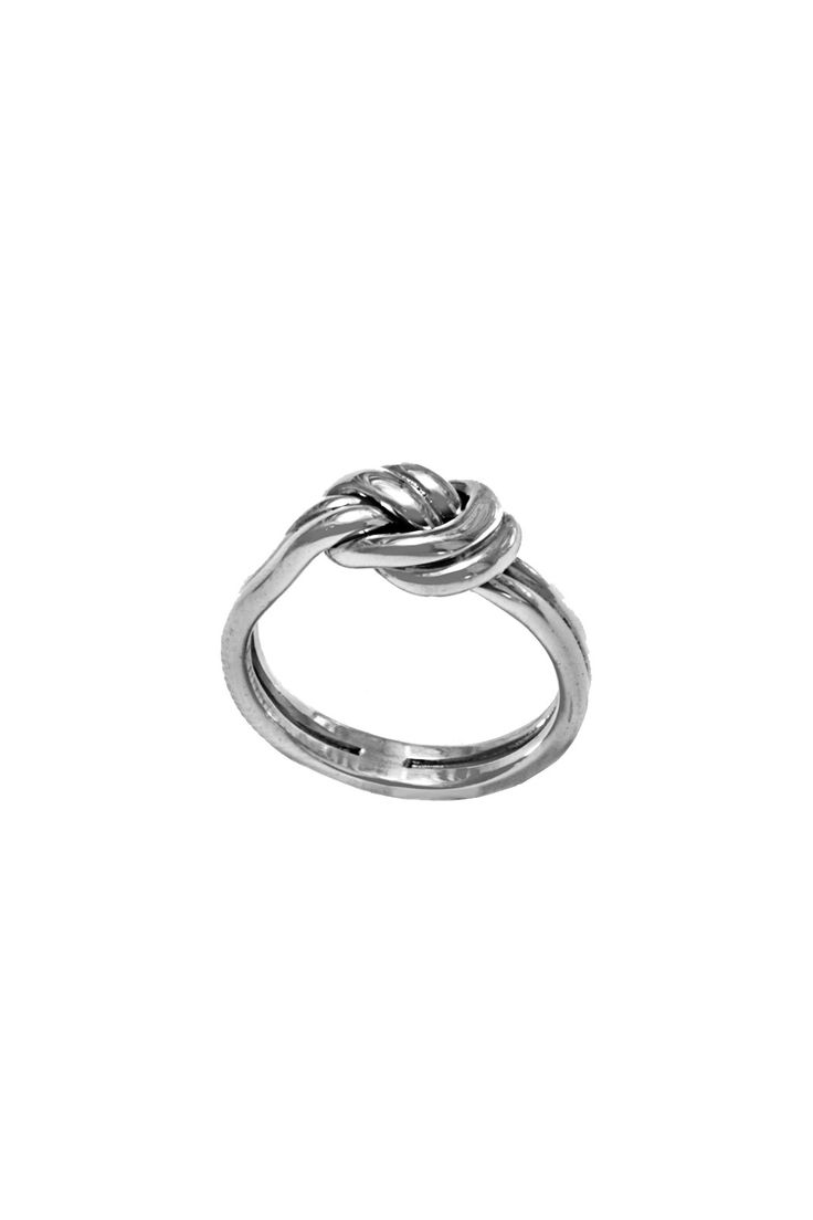 Connected Double Knot Ring