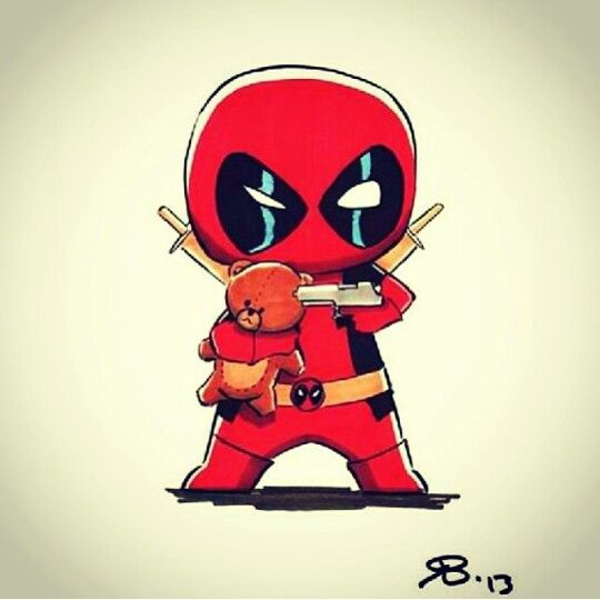 23 best deadpool images on pinterest spiderman marvel universe and marvel dc - Dessin deadpool ...