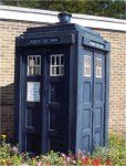 Police Boxes in England / The TARDIS Wetherby Police Station, West Yorkshire