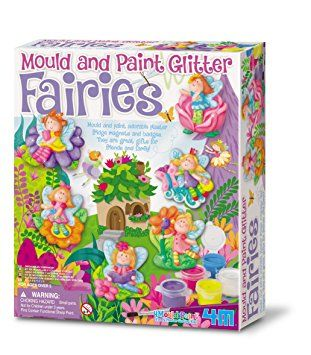 4M Mould and Paint Glitter Fairy: Amazon.co.uk: Toys & Games