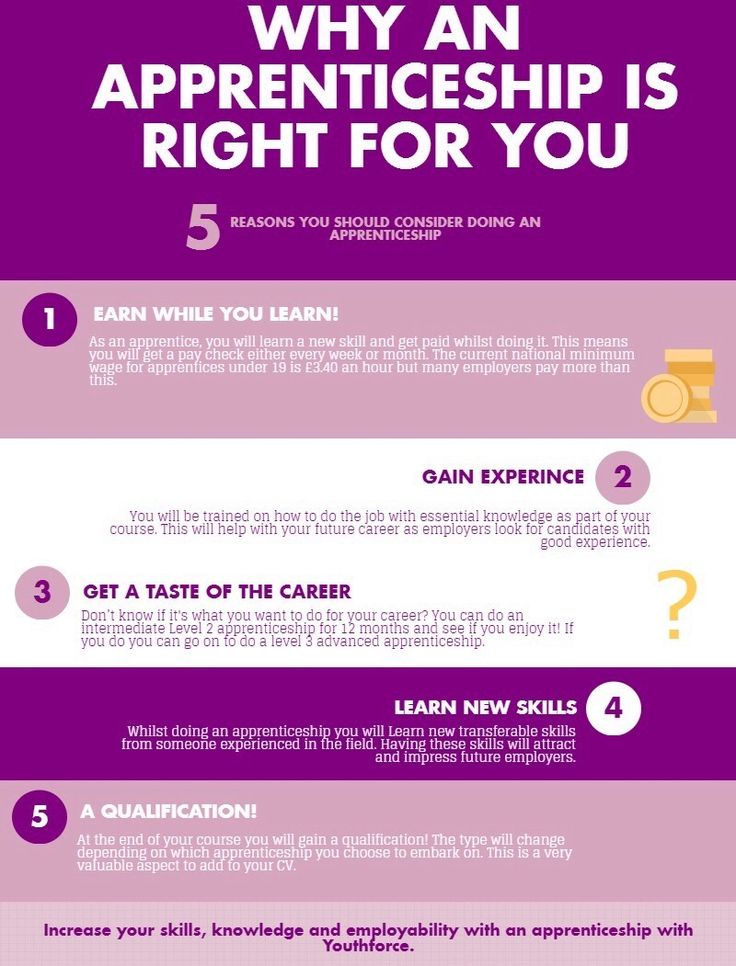 5 reasons to do an apprenticeship