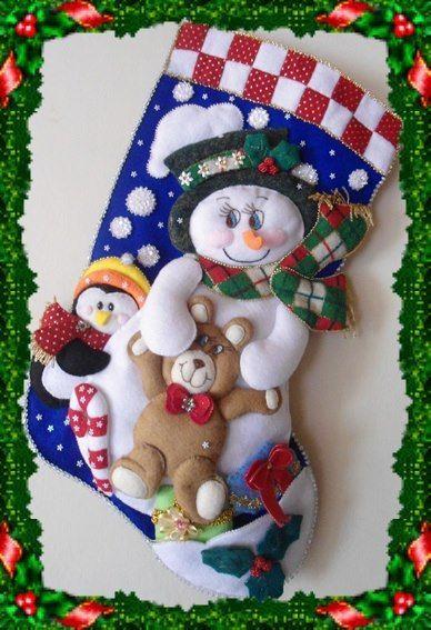 Botas de navidad para tu chimenea 1