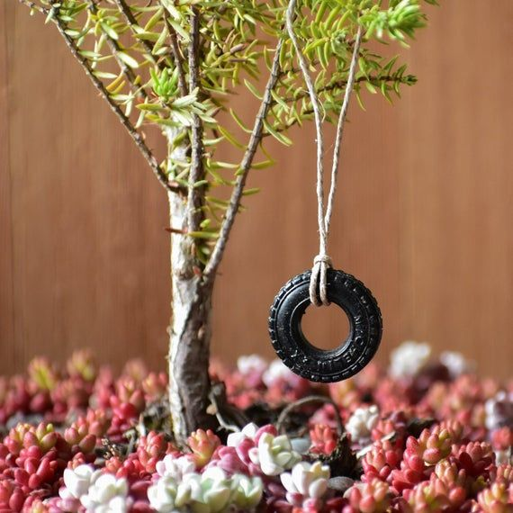 Fairy Garden Tire Swing / Miniature Tire Swing / Fairy Garden Accessories – Products