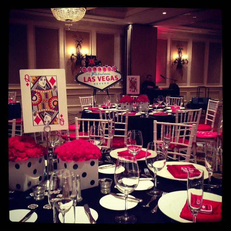 Event decor for casino/vegas theme -Jumbo playing cards on easels