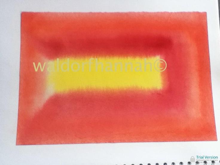 Waldorf ~ 2nd grade ~ Watercolor Painting