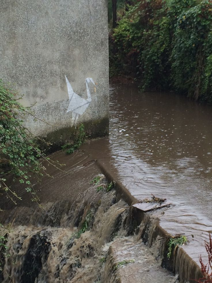 Banksy in Lyme Regis