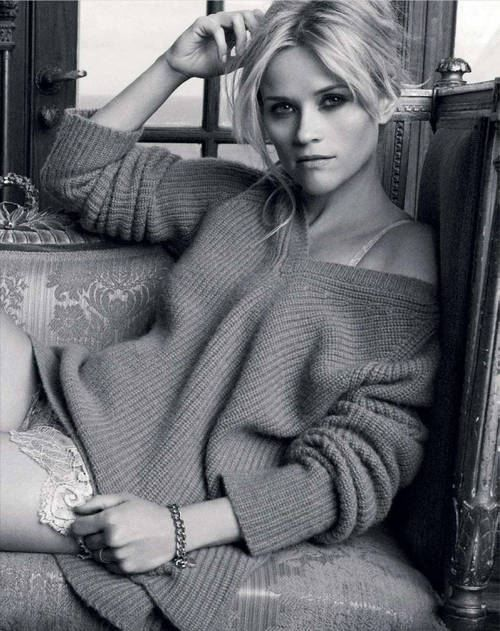 .: Reesewitherspoon, Reese Witherspoon, Sweaters, Ree Witherspoon, Movie Stars, Mary Claire, Photos Shoots, Beautiful People, Hair