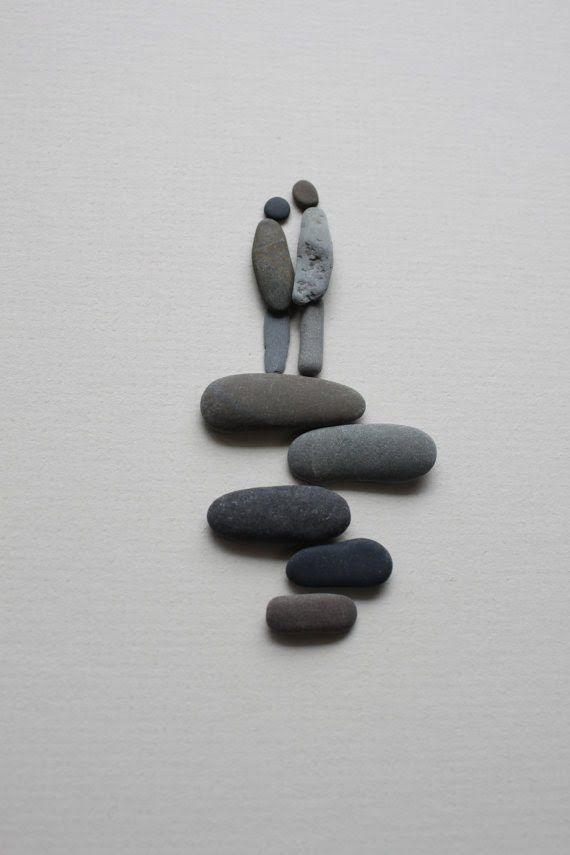Sharon Nowlan sencillas esculturas piedras 9