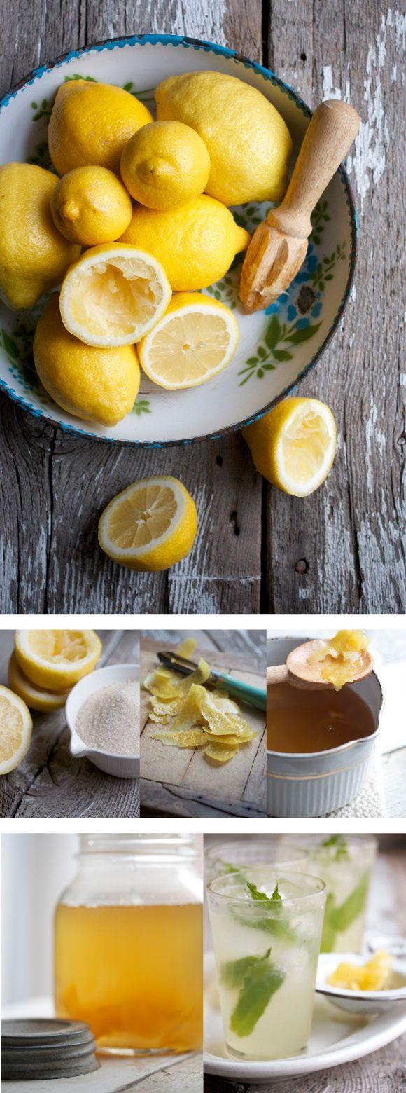 lemon zest syrup