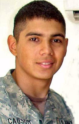 Army Spc. Roberto J. Causor Jr.  Died July 7, 2007 Serving During Operation Iraqi Freedom  21, of San Jose, Calif.; assigned to the 2nd Battalion, 505th Parachute Infantry Regiment, 3rd Brigade Combat Team, 82nd Airborne Division, Fort Bragg, N.C.; died July 7 in Samarra, Iraq, of wounds sustained when insurgents attacked his unit with an improvised explosive device and small-arms fire.