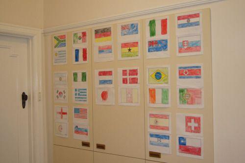World Cup Kids Activities - Flags