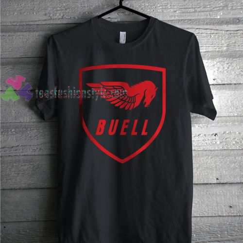 BUELL Logo American Motorcycle Best T-Shirt gift Tees adult unisex custom clothing Size S-3XL