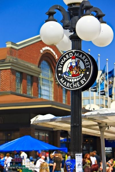 Byward Market Lamp Post, Ottawa, Ontario http://www.ottawatourism.ca/en/visitors/top-attractions/byward-market