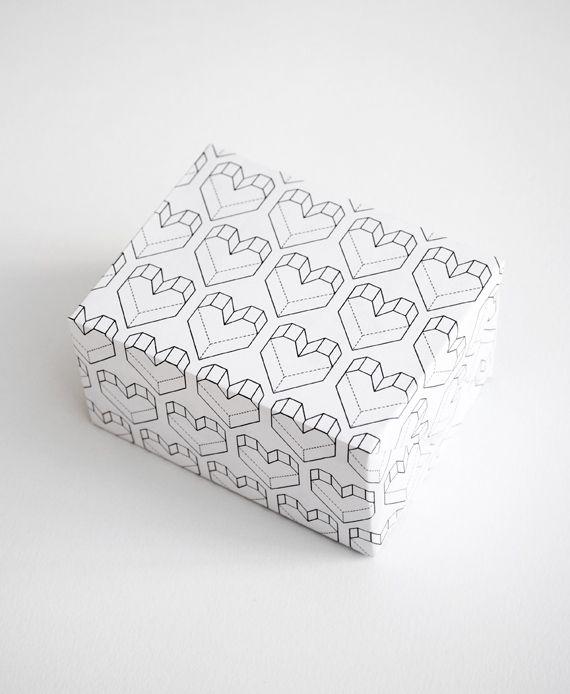 Printable valentines wrap
