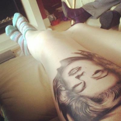 Marilyn Monroe Face Silhouette Tattoo Bd90fcedc09415cfc3b32f0c78cc ...