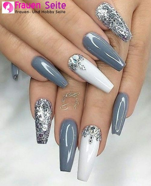 Awesome Acryl Nail Art Designs, um Sie z…