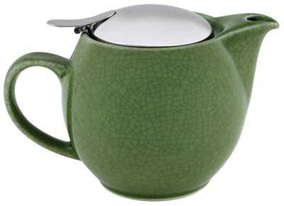 Zero Japan Green Crackle Teapot $50.00