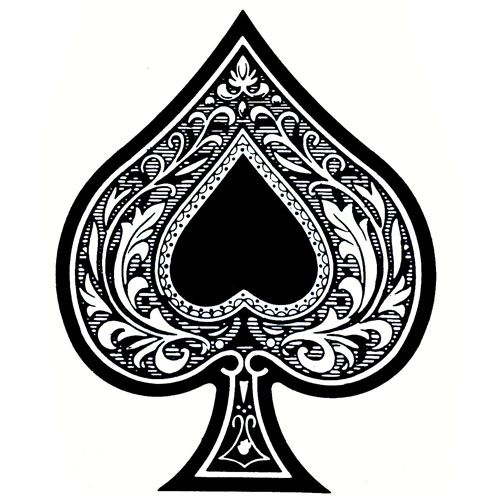 ace of spades tat tattoo 12