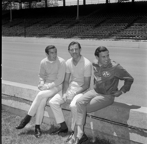 The UK Invasion :  Jackie Stewart, Graham Hill & Jim Clark, /  Indianapolis 1966