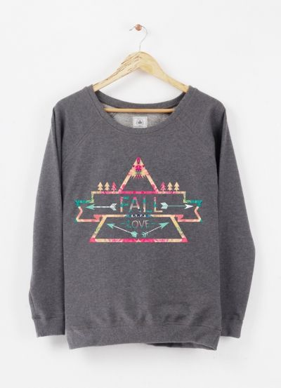 FALL LOVE PULLOVER BY NIKA FOR TRIAAANGLES Triaaangles.fr - Artshop - #00000000000000004929 #FRANCE #FRENCH #FASHION #URBAN #STYLE #CLOTHES #INDIE #DESIGNER #GIRLS #LOVE #FALL #URBANCLOTHING #GIRLYTREND #NIKAMARTINEZ #TRIAAANGLES #GIRLYSTYLE #SURF #COOL #HIPSTER #LOGO #ARROWS