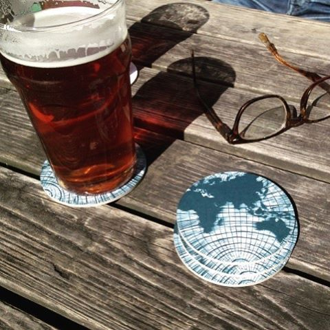🍺👌🏻⚓️ Hope you all have had a nice weekend! #lionsandcranes #lionsocranes #öl #beer #bier #birra #øl #ale #coasters #glasunderlägg #swedishdesign #design #weekend #worldawaits