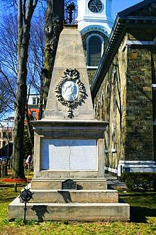 George Clinton (vice president) - Wikipedia, the free encyclopedia - Grave Monument in Kingston New York