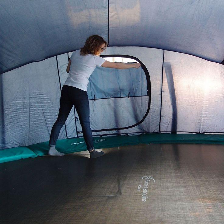 Tente adaptée à votre trampoline rond de loisir pour Jump'Up ou Booster 430