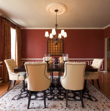 Best 25 Red Dining Rooms Ideas On Pinterest  Red Accent Walls Best Red Wall Dining Room Inspiration