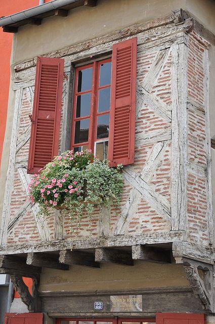 La vieille ville de Brioude en Auvergne