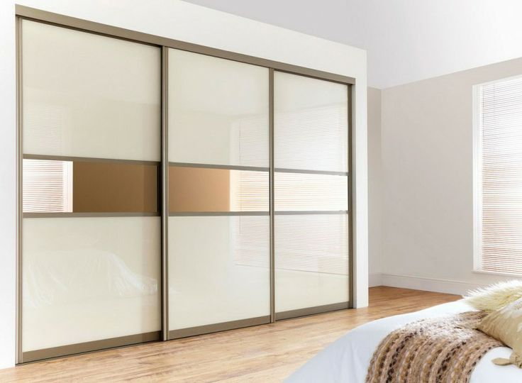Bedroom, Exciting Natural Looks Modern Sliding Doors Wardrobes White Bedroom Decorating Ideas: Stylish Modern Sliding Doors Wardrobes for Interior Bedrooms