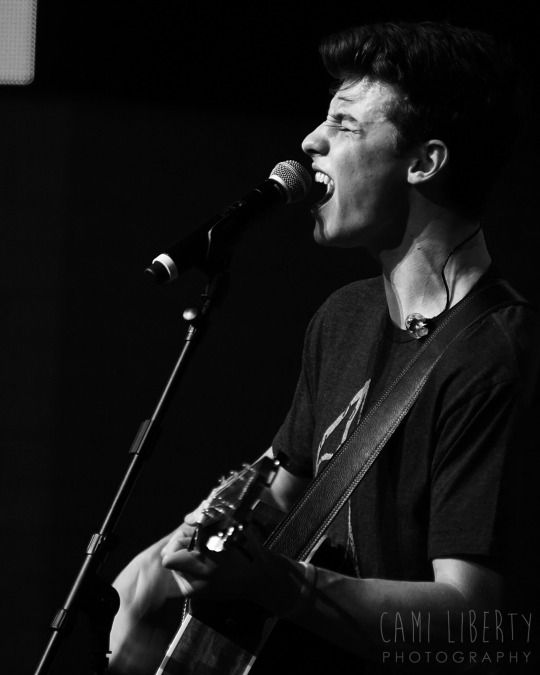 I just love the way shawn is so into singing