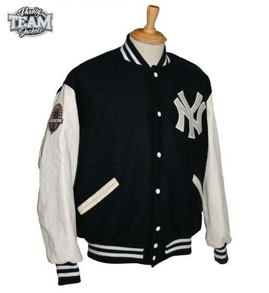 Custom wool and leather varsity jacket with chenille patches (provided by customer) by Team Varsity Jackets. www.teamjackets.net www.facebook.com/TeamVarsityJackets