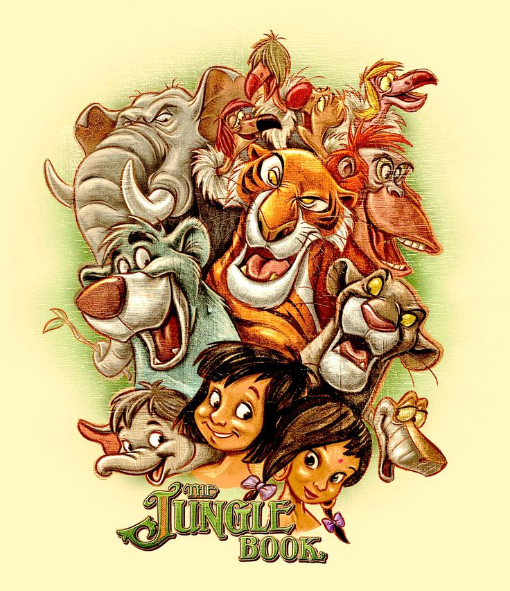 ✶ The Jungle Book ★