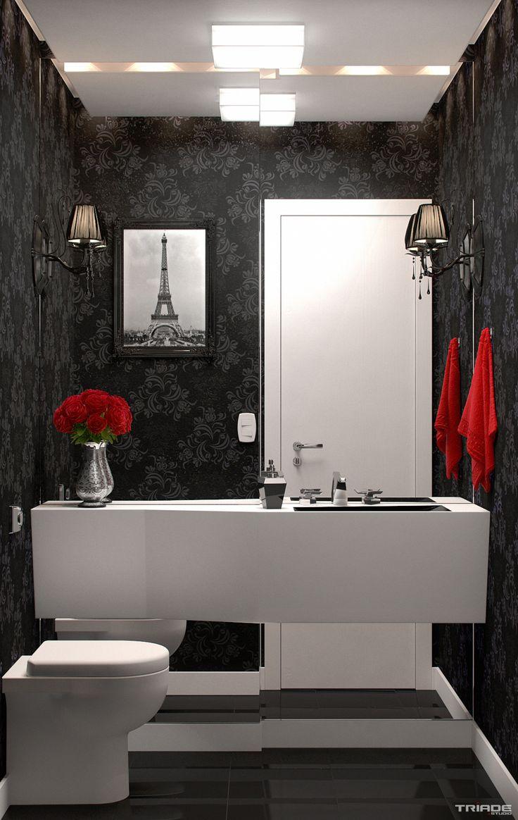 projeto de lavabo pequeno - Pesquisa Google
