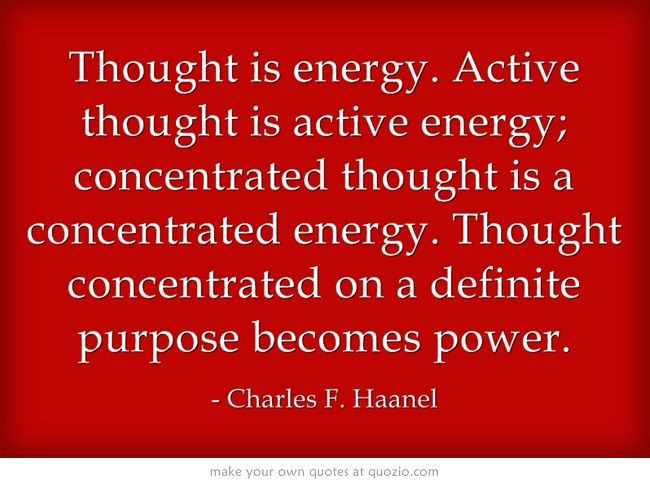 Great Quote from Charles F. Haanel - Master Key System