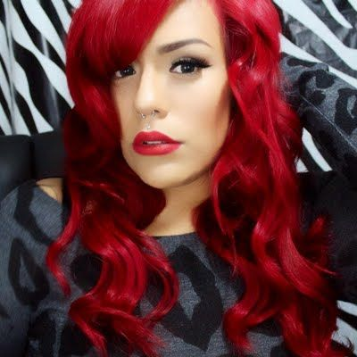 Red hair is for the brave and outrageous! See how you can DIY this hair color with the video tutorial here.