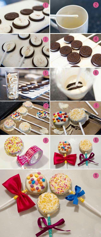 Oreo cake pops