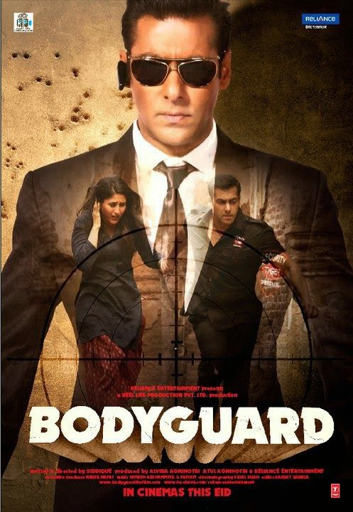Bodyguard is about a girl who falls in love with her bodyguard, and fools around…