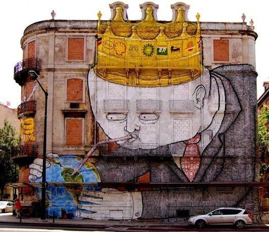 Arte urbano: 12 murales que muestran el impacto del hombre en el medioambiente