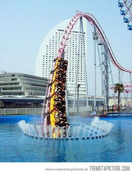 Vanishing rollercoaster, Japan awesome