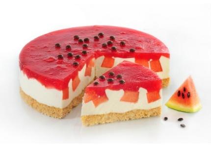 Arbuzowy przysmak. Kliknij w zdjęcie, aby poznać przepis. #ciasta #ciasto #desery #wypieki #cakes #cake #pastries